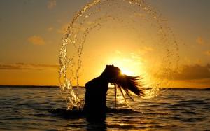 women-water