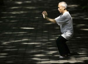 old man tai chi